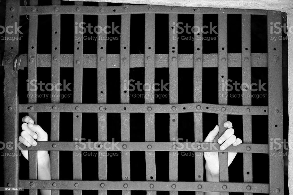 Jail royalty-free stock photo