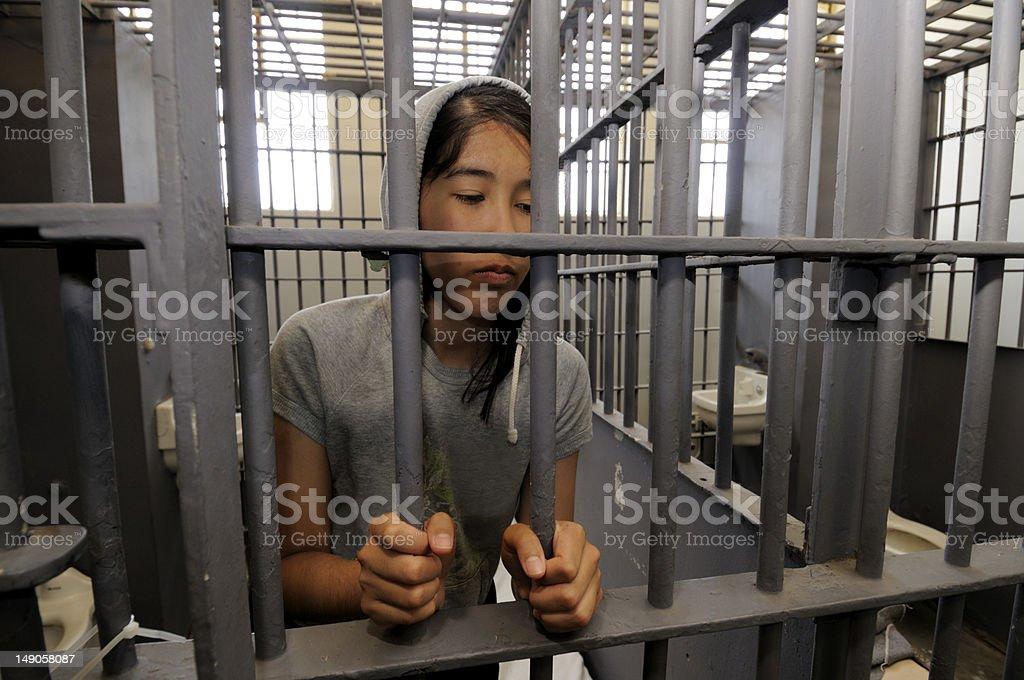 Jail time stock photo