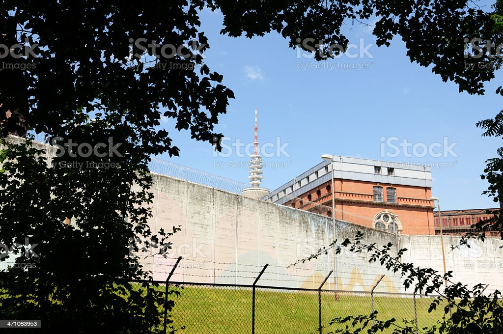 jailhouse and raditower royalty-free stock photo