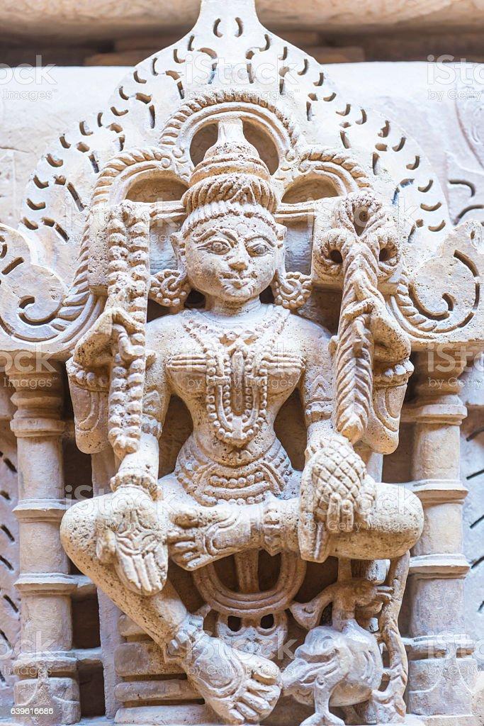 Jain Temple, Rajasthan stock photo