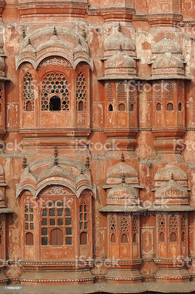 jaipur hawa mahal  the palace of winds royalty-free stock photo