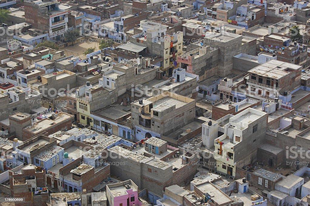 Jaipur suburbs. royalty-free stock photo