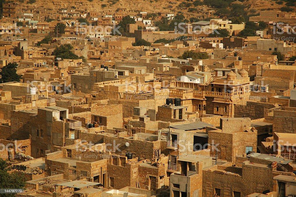Jaisalmer city royalty-free stock photo