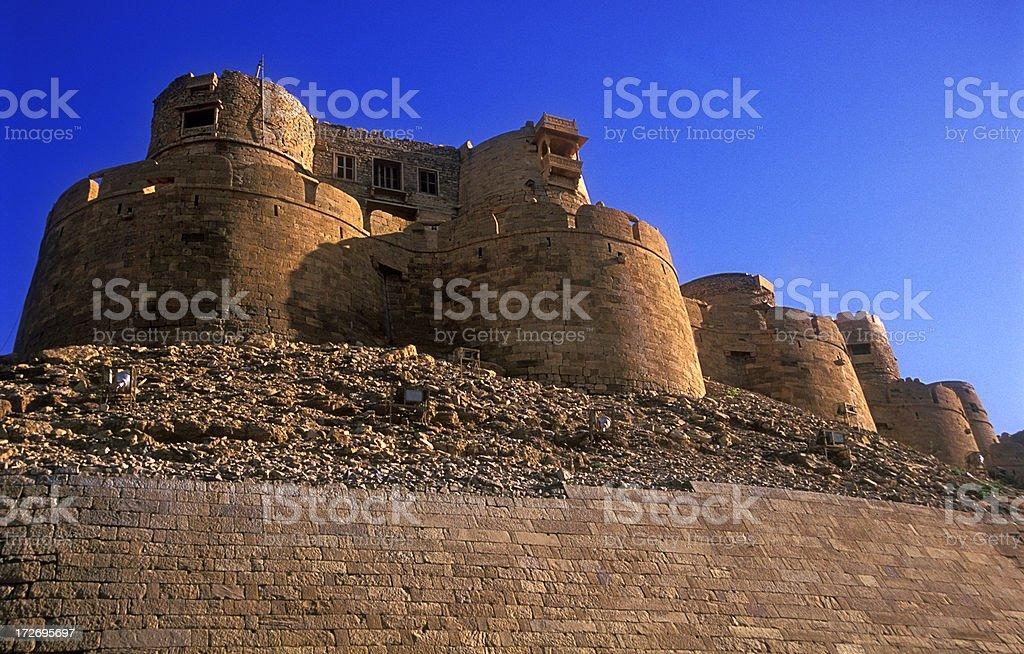 Jaisalmer fort 2 stock photo