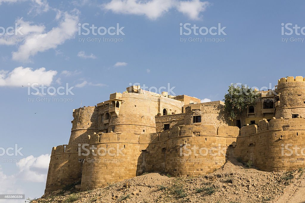 Jaisalmer fort, India stock photo