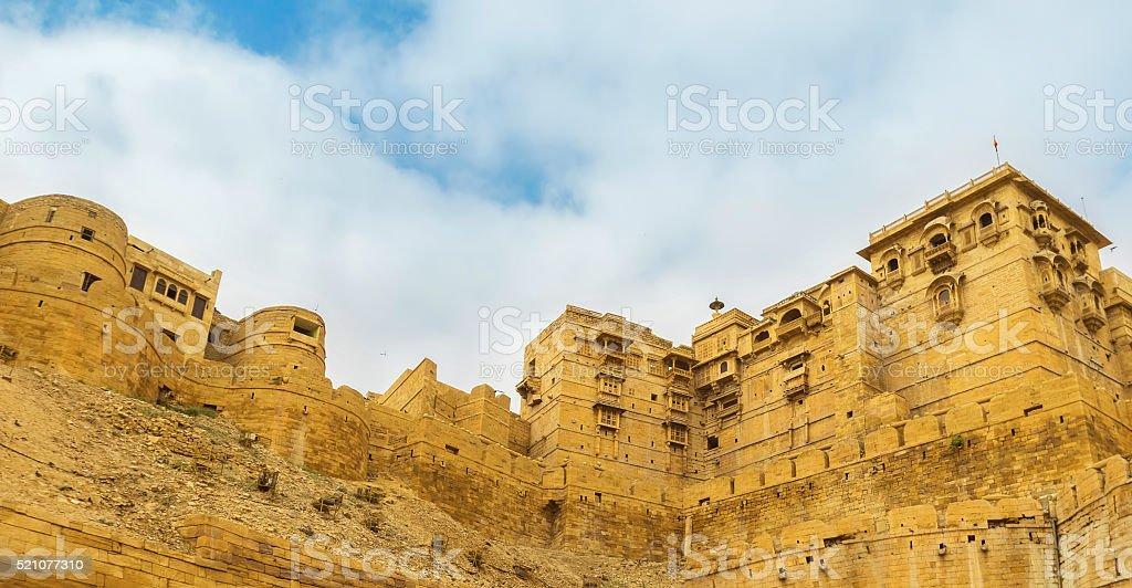 Jaisalmer Fort or Golden Fort or Sonar Quila of Jaisalmer stock photo