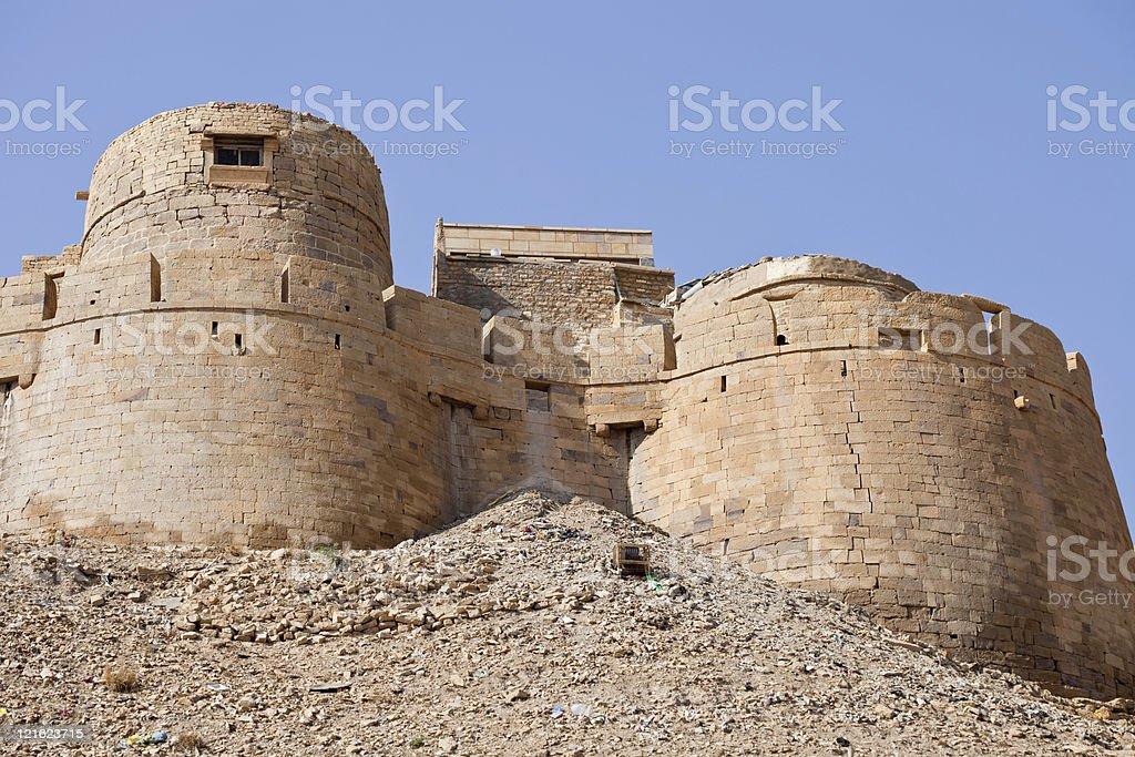 Jaisalmer Fort stock photo