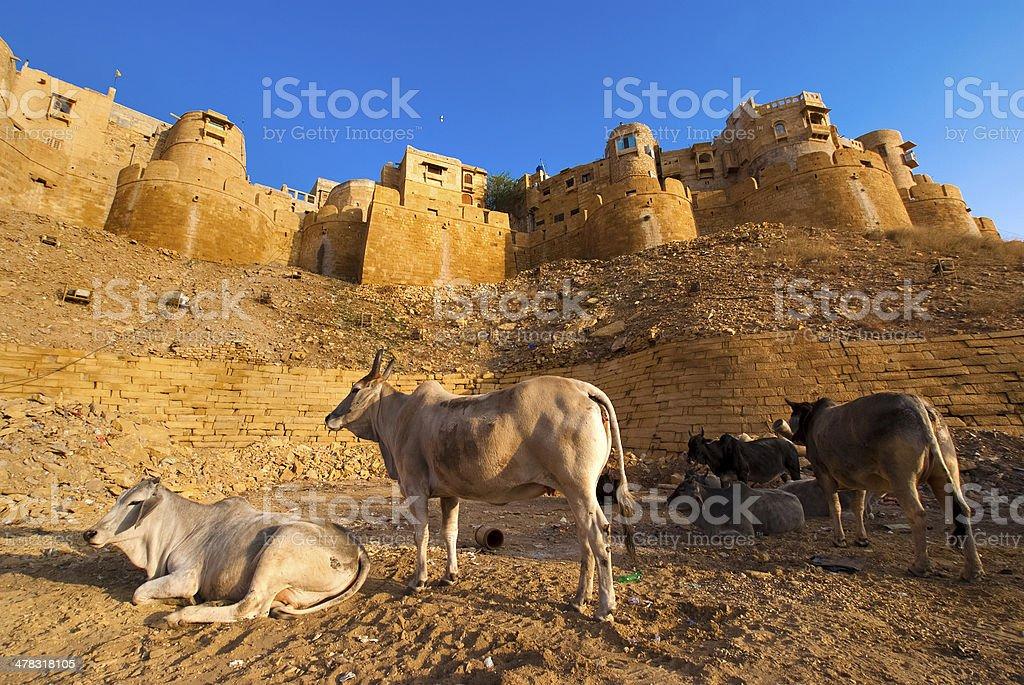 Jaisalmer Fort royalty-free stock photo