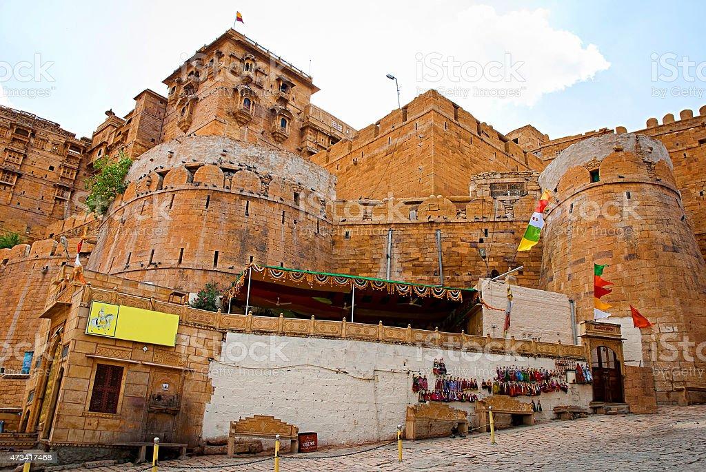 Jaisalmer Fort, la ville dorée de Jaisalmer, Rajasthan, Inde photo libre de droits