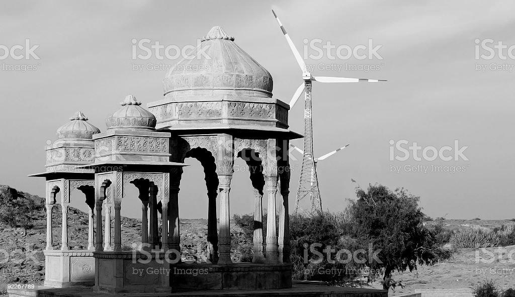 Jaisalmer / Old and New stock photo