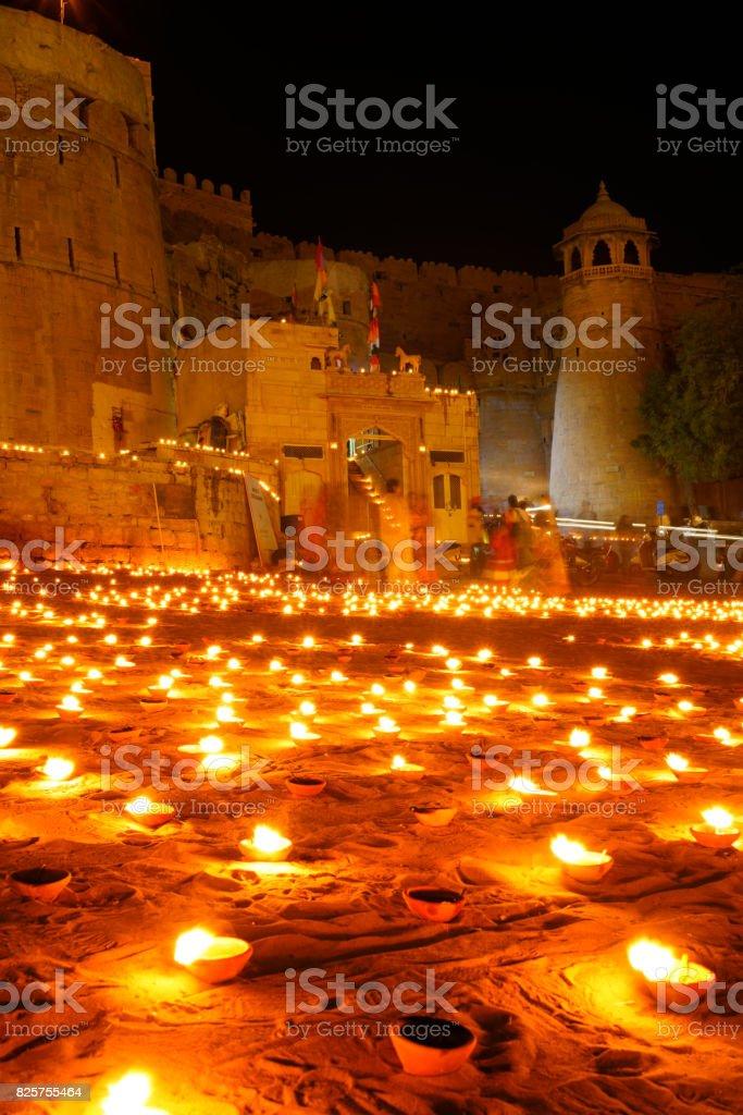 Jaisalmer's Daylight Festival stock photo