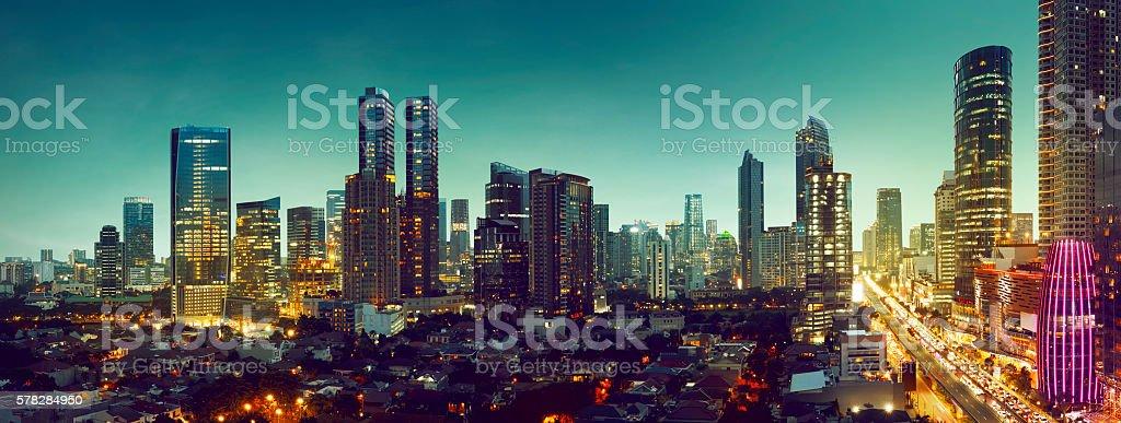 Jakarta City stock photo