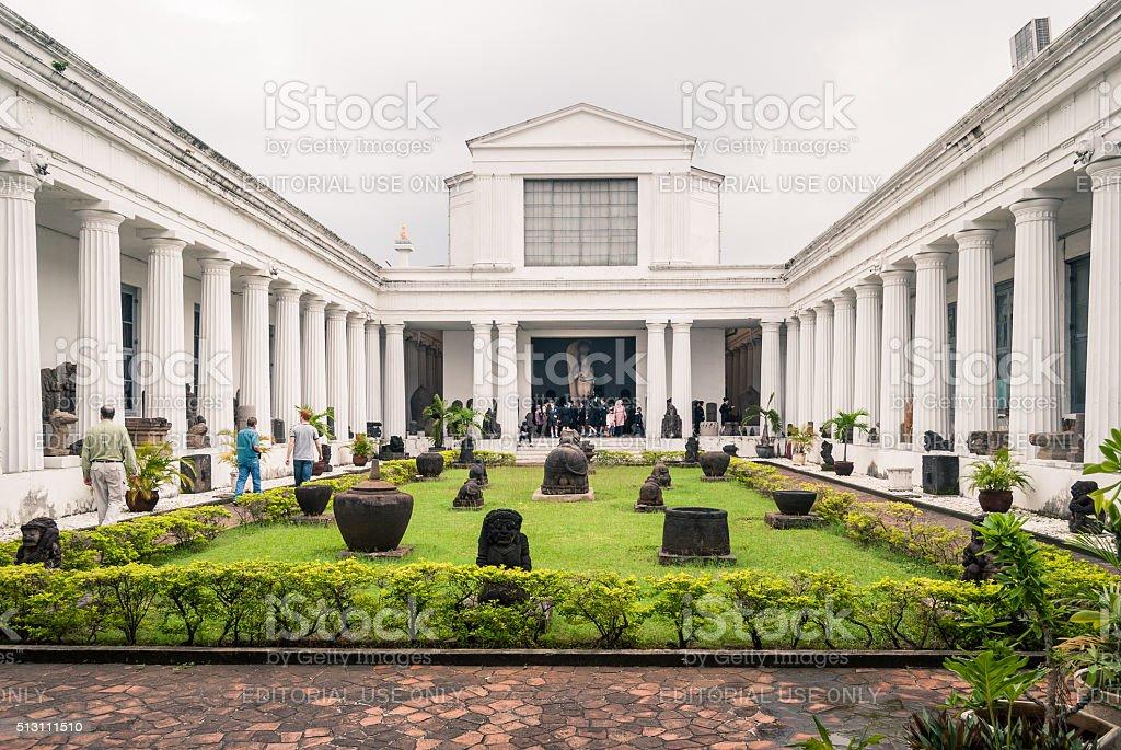 Jakarta National Museum stock photo