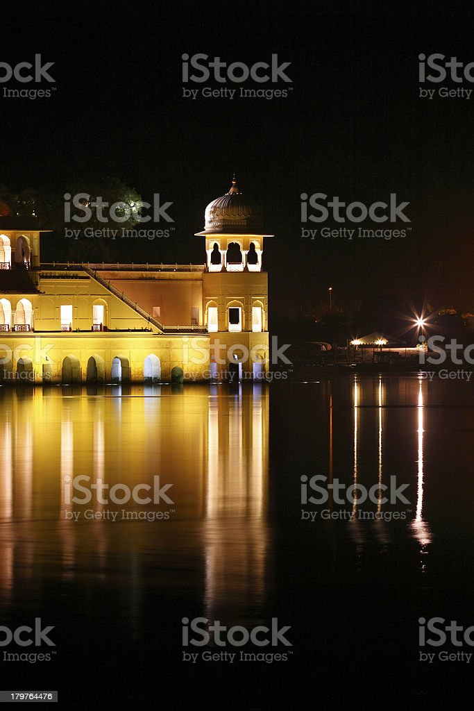 Jal Mahal (Water palace) in Jaipur,India stock photo