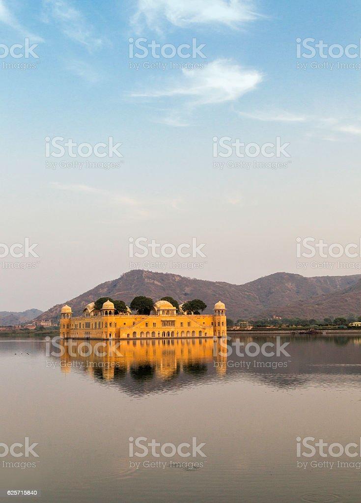 Jal Mahal Jaipur, Rajasthan stock photo