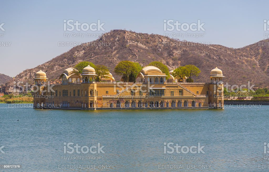 Jal Mahal Lake Palace stock photo