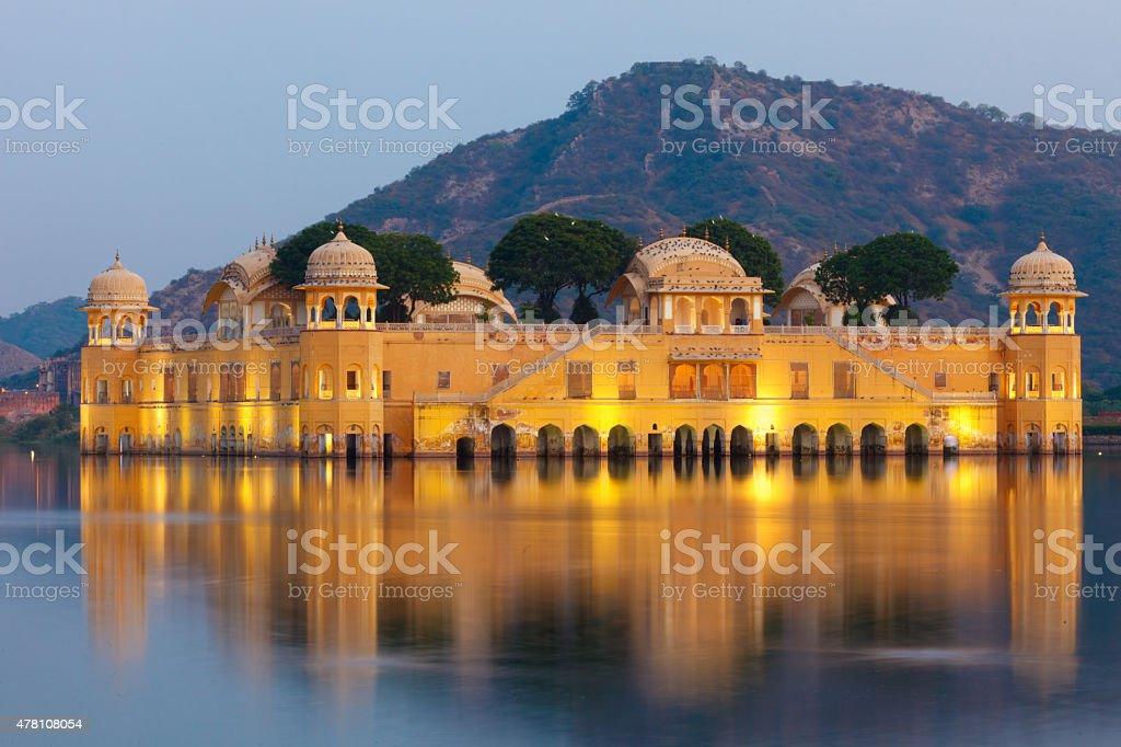 Jal Mahal Palace stock photo