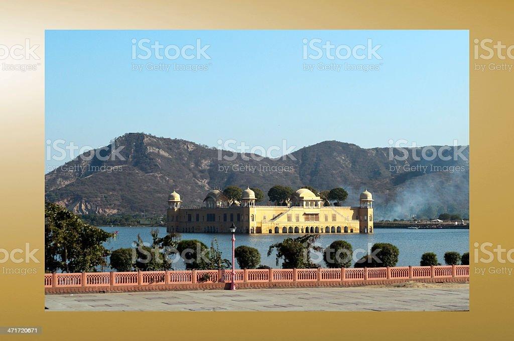 Jal Mahal royalty-free stock photo