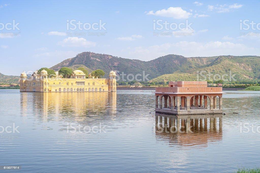 Jal Mahal (Water Palace) stock photo