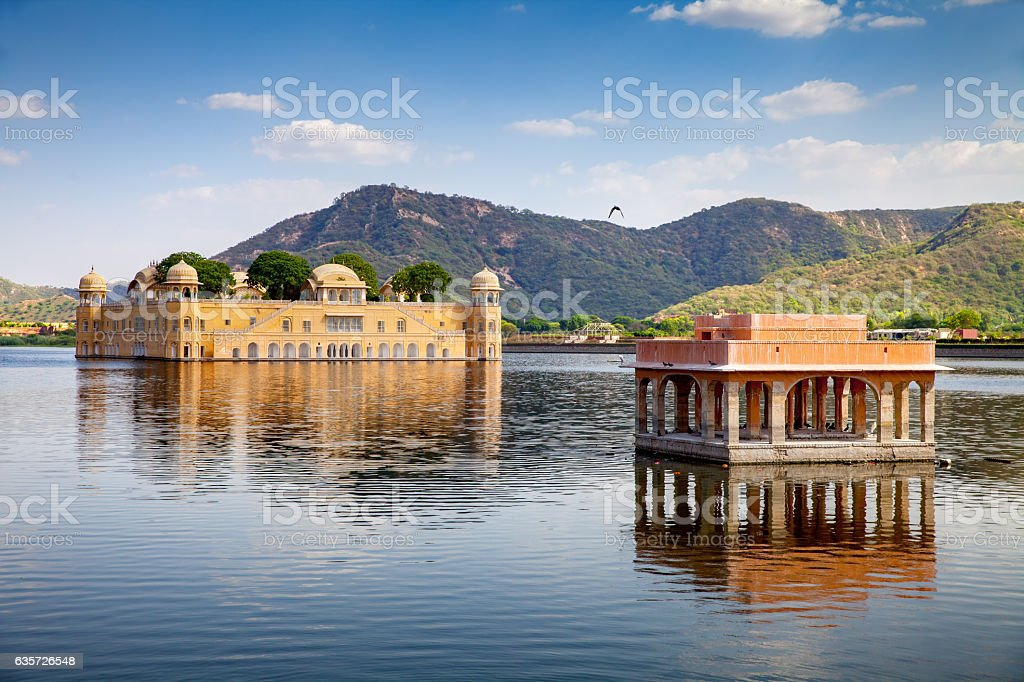 Jal Mahal (Water Palace) stock photo