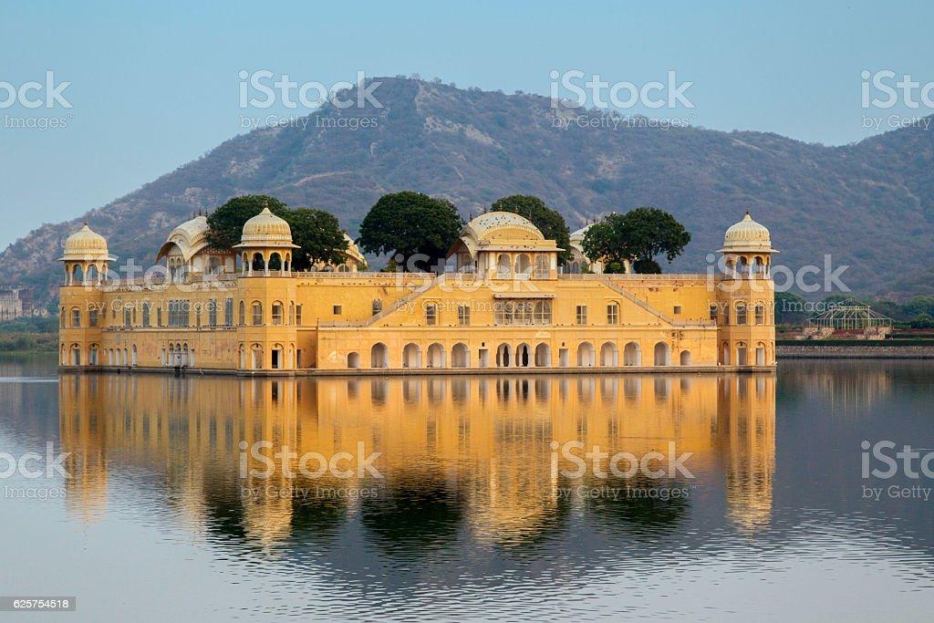 Jal Mahal(Water Palace), Rajasthan, India. stock photo