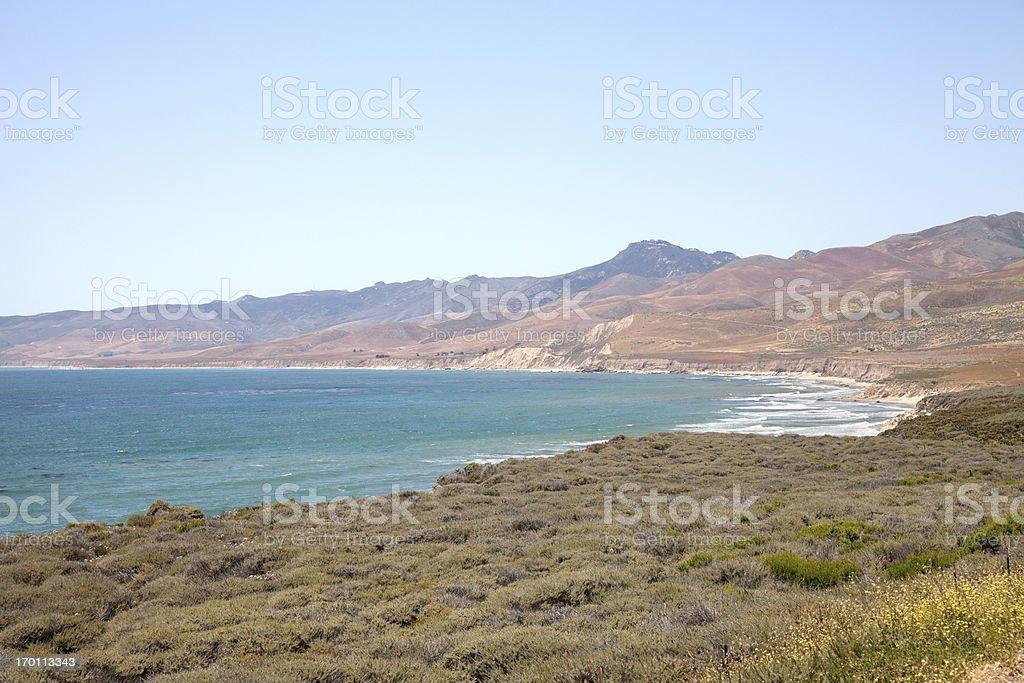 Jalama Beach, California stock photo