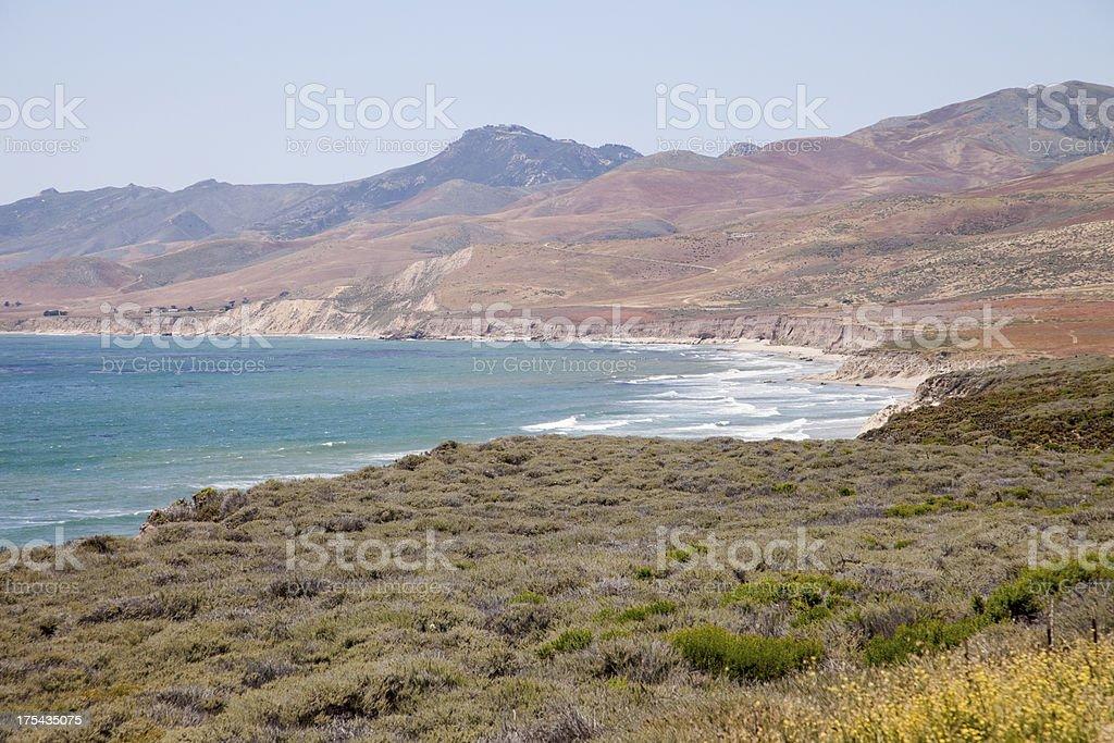 Jalama Beach View, California stock photo