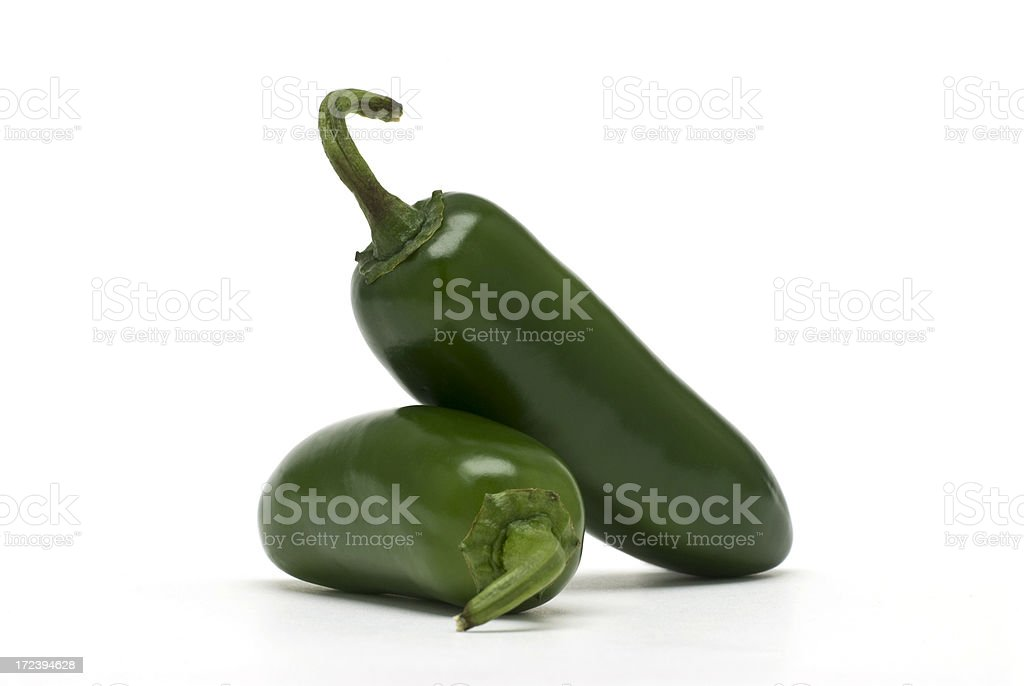 Jalapeno Peppers royalty-free stock photo