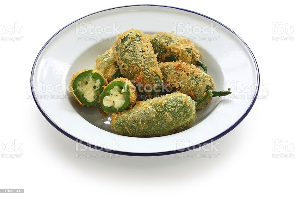 jalapeno poppers stock photo