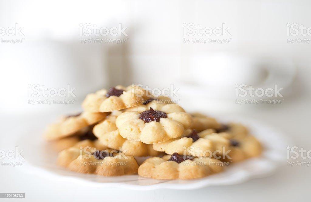 Jam cookies royalty-free stock photo