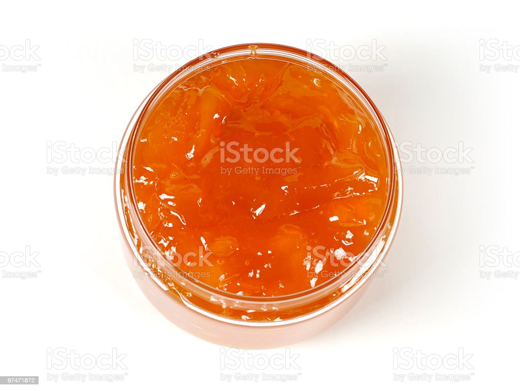 Jam jar royalty-free stock photo
