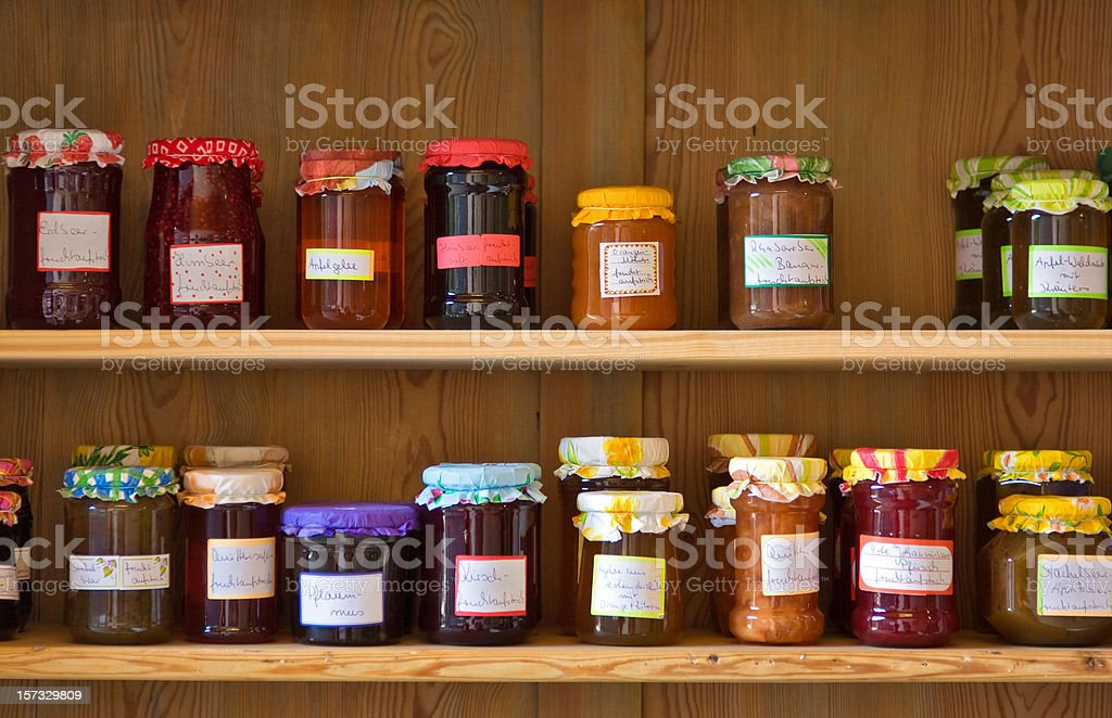 confiture royalty-free stock photo