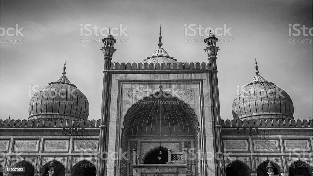 Jama  Mashid, Delhi stock photo
