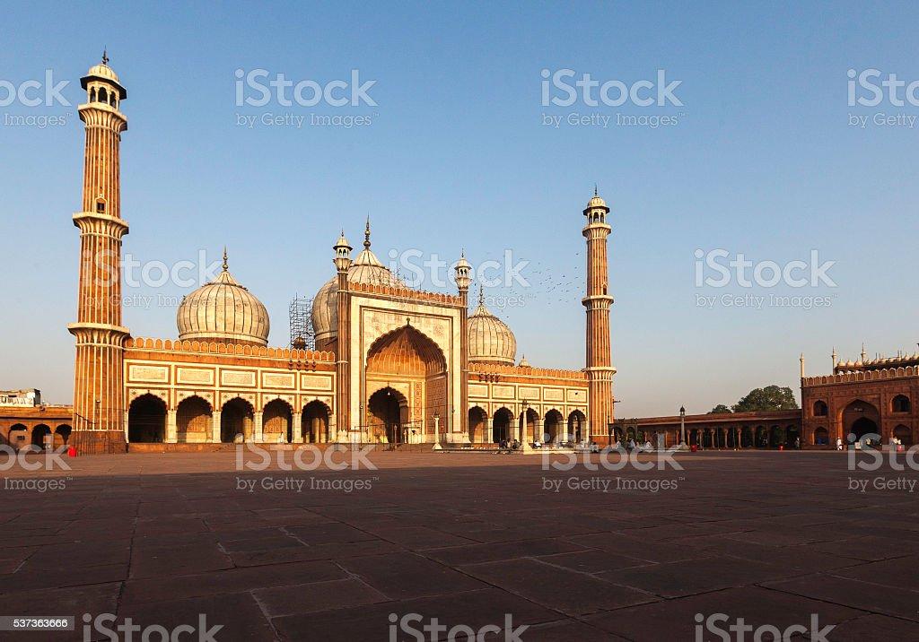 Jama Masjid, Delhi, India stock photo