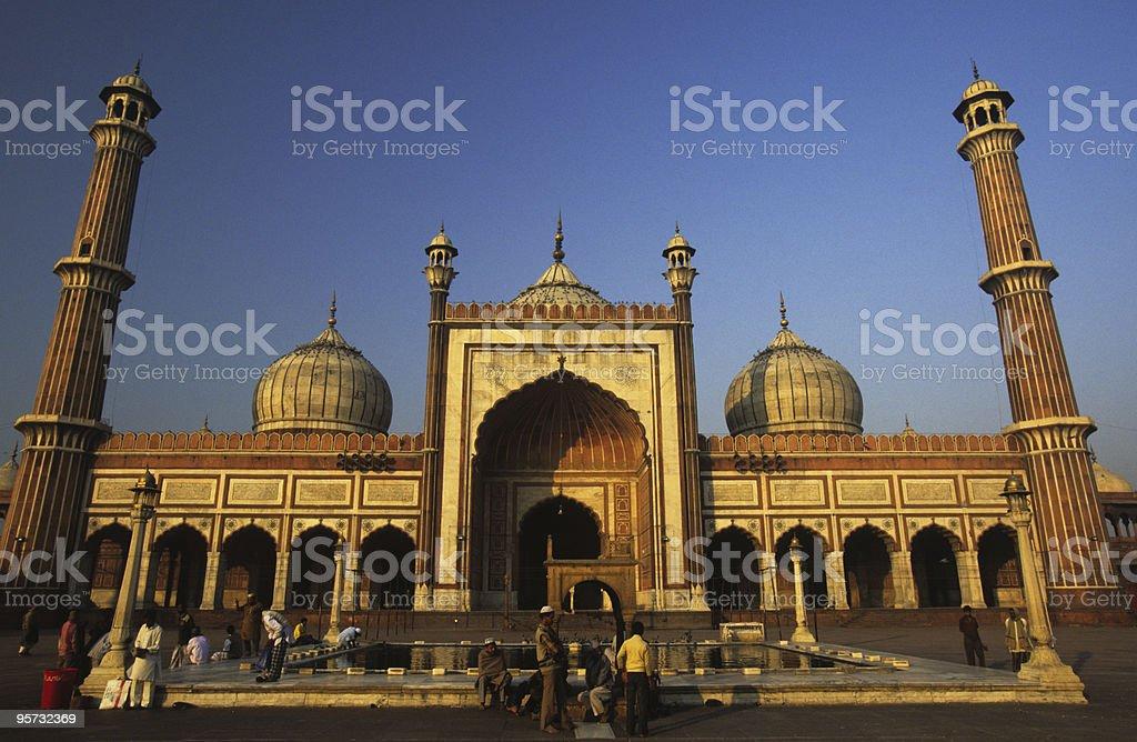 Jama Masjid Mosque, Delhi, India stock photo