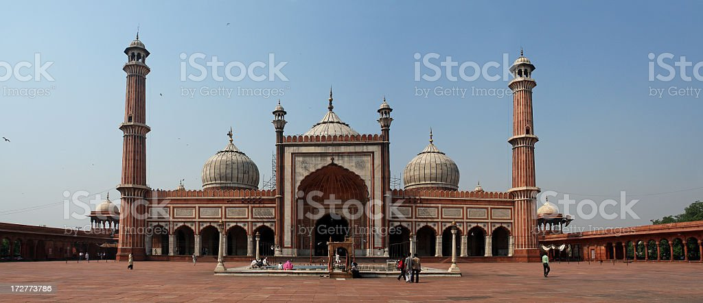 Jama Masjid Mosque royalty-free stock photo
