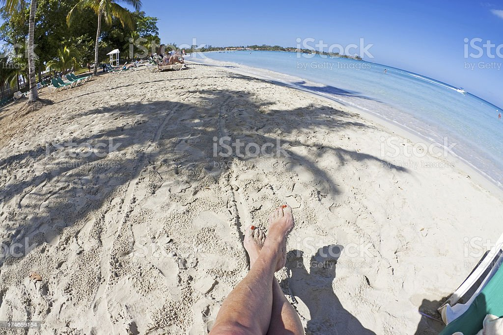 Jamaica beach # 3 XL royalty-free stock photo