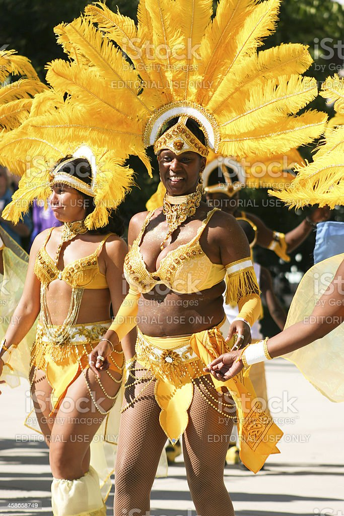 Jamaica Festival and Parade in Chicago stock photo