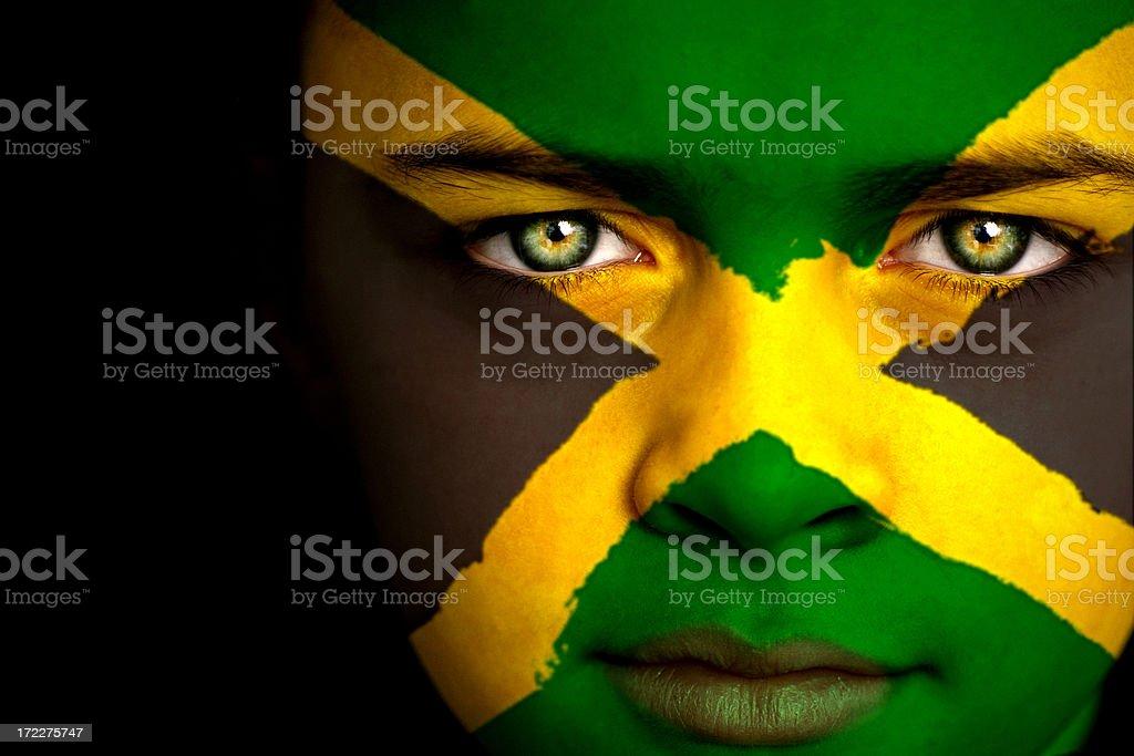Jamaican boy royalty-free stock photo