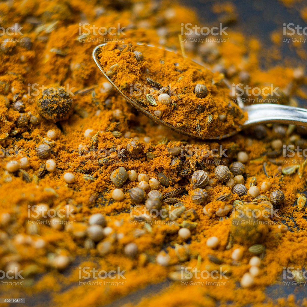 Jamaican Curry stock photo