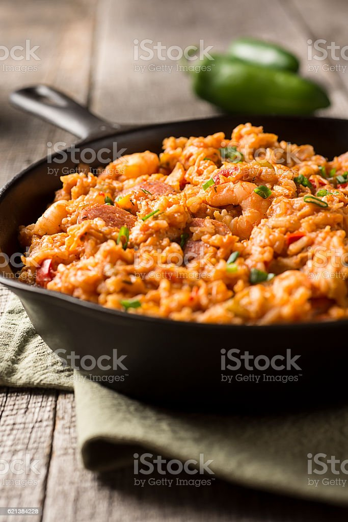 Jambalaya stock photo
