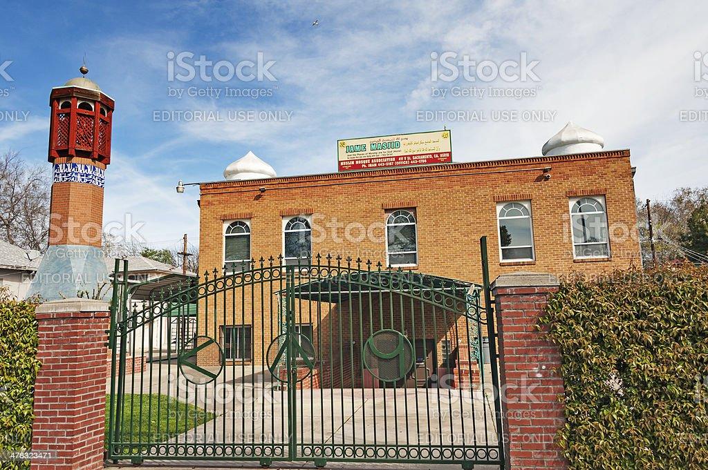 Jame Masjid Muslim Mosque royalty-free stock photo