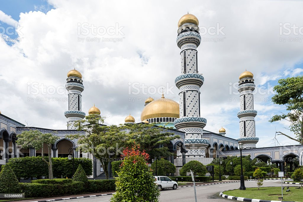 Jame'asr Hassanil Bolkiah Mosque stock photo