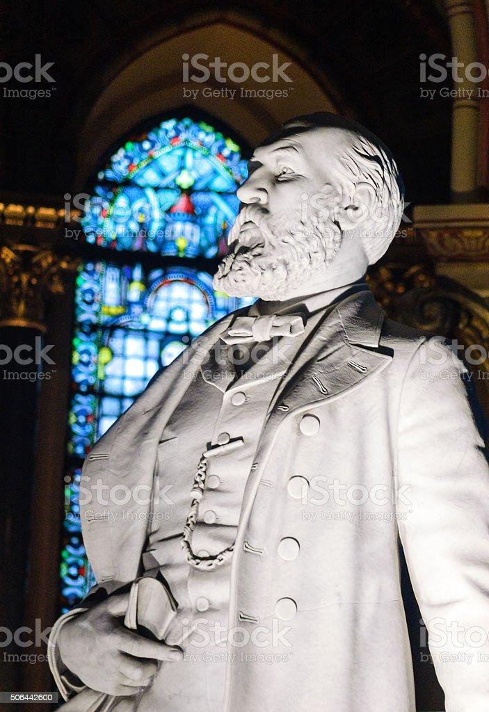 James A. Garfield Memorial stock photo