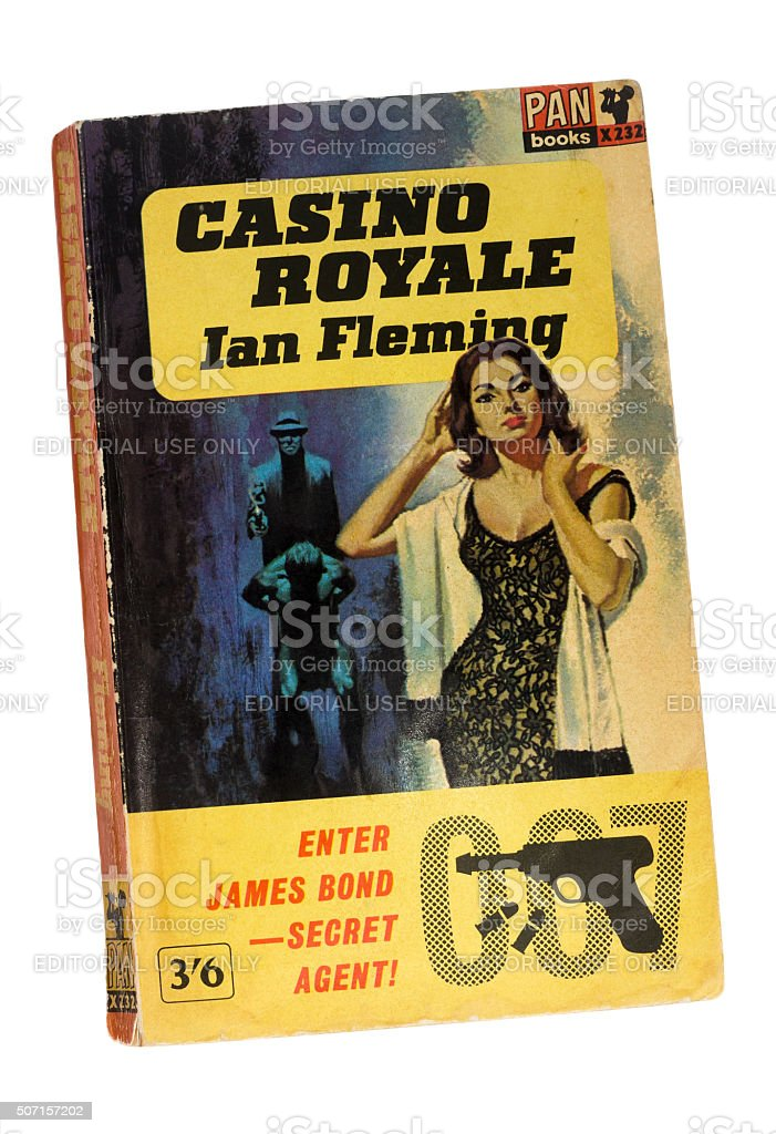 James Bond, Casino Royale Paperback Book stock photo