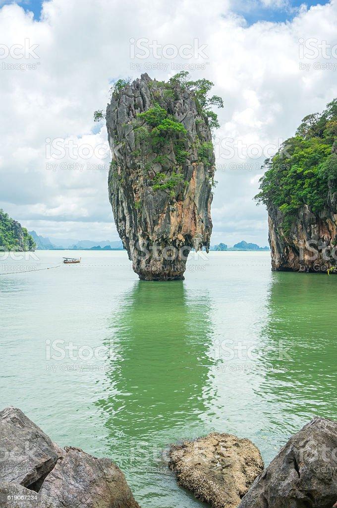 James Bond Island - Phang Nga Bay stock photo