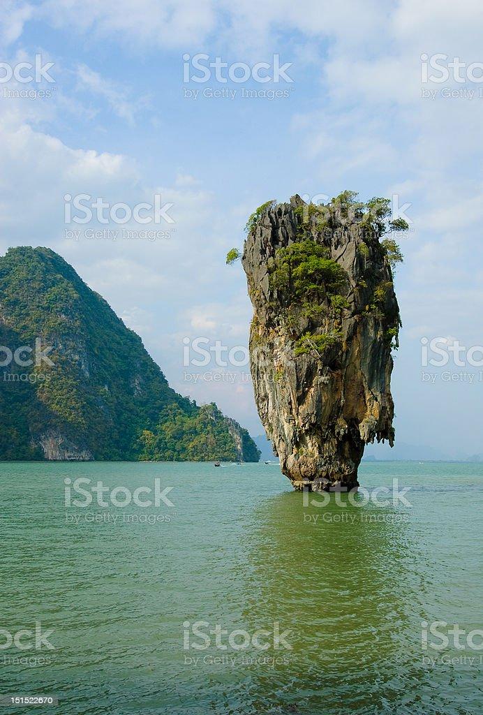James Bond Island, Phang Nga, Thailand royalty-free stock photo