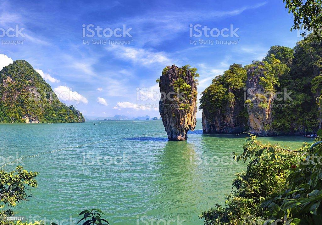 James Bond Island stock photo