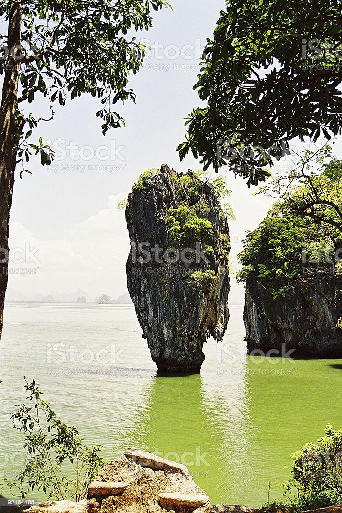 James Bond's Island stock photo