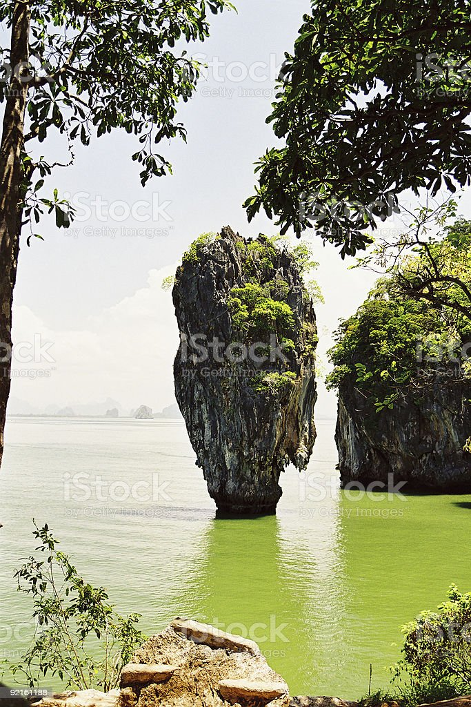 James Bond's Island stock photo